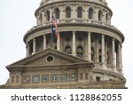texas state capitol in asutin ... | Shutterstock . vector #1128862055