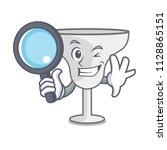 detective margarita glass... | Shutterstock .eps vector #1128865151
