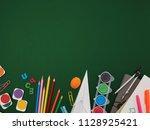 back to school | Shutterstock . vector #1128925421
