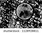 abstract background. monochrome ... | Shutterstock . vector #1128928811