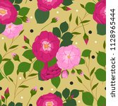 floral seamless pattern for... | Shutterstock .eps vector #1128965444