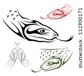 anaconda snake   vector... | Shutterstock .eps vector #112900171
