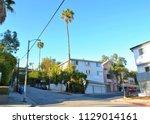 A Sunny Street In Hollywood  Ca.