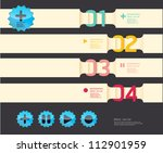 modern soft color design...   Shutterstock .eps vector #112901959