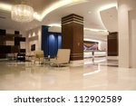 modern lobby for five stars... | Shutterstock . vector #112902589