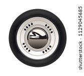 retro car isolated | Shutterstock .eps vector #1129045685