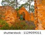 boydtown old church. built in... | Shutterstock . vector #1129059311
