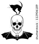 vector halloween illustration... | Shutterstock .eps vector #112906189