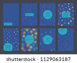 collection of creative... | Shutterstock .eps vector #1129063187