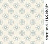 seamless floral wallpaper... | Shutterstock .eps vector #1129156259