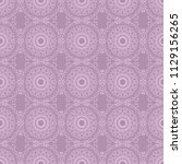 seamless floral wallpaper... | Shutterstock .eps vector #1129156265