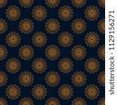 seamless floral wallpaper... | Shutterstock .eps vector #1129156271