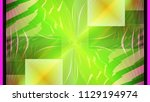 color abstract painting of... | Shutterstock . vector #1129194974