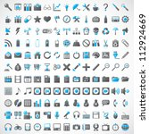 universal vector icons for web... | Shutterstock .eps vector #112924669