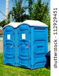 Two Portable Toilet Or Loo In...
