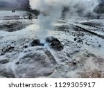 close up picture of an active... | Shutterstock . vector #1129305917