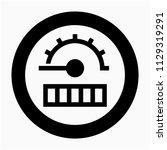 glyph beautiful odometer vector ...   Shutterstock .eps vector #1129319291