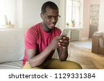 horizontal picture of young...   Shutterstock . vector #1129331384