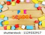 close up arrangement of ... | Shutterstock . vector #1129332917