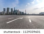 panoramic skyline and modern... | Shutterstock . vector #1129339601