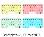 set of keyboard for user...