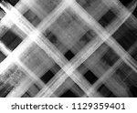 black and white plaid pattern.... | Shutterstock . vector #1129359401
