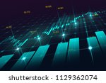 stock market or forex trading... | Shutterstock . vector #1129362074