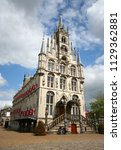 gouda town hall | Shutterstock . vector #1129362881