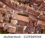 aerial view over schaffhausen... | Shutterstock . vector #1129369244