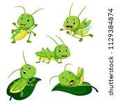 vector illustration of set... | Shutterstock .eps vector #1129384874