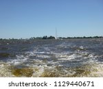dutch waterway  frisian... | Shutterstock . vector #1129440671