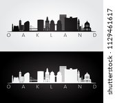 Oakland  Usa Skyline And...