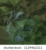 abstract painting on canvas.... | Shutterstock . vector #1129462211