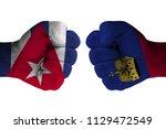 cuba vs liechtenstein | Shutterstock . vector #1129472549