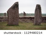 stone circle of the ring of... | Shutterstock . vector #1129480214