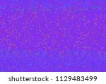 shimmering dots on purple... | Shutterstock .eps vector #1129483499