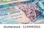 banknotes of the sri lanka | Shutterstock . vector #1129492031