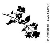 vector silhouette of the... | Shutterstock .eps vector #1129512914
