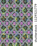 abstract colorful checkered...   Shutterstock . vector #1129521779