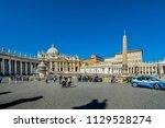 vatican city   september 24... | Shutterstock . vector #1129528274