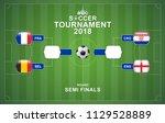 banner world soccer... | Shutterstock .eps vector #1129528889
