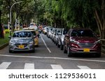 growth in the automotive park... | Shutterstock . vector #1129536011