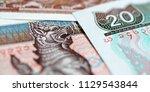 banknotes of the myanmar burma  | Shutterstock . vector #1129543844