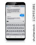 wireless communication computer ...   Shutterstock . vector #1129551881