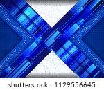 abstract technology... | Shutterstock .eps vector #1129556645