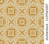 art deco pattern. seamless... | Shutterstock .eps vector #1129561007