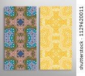 vertical seamless patterns set  ...   Shutterstock .eps vector #1129620011