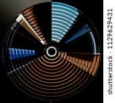 fish eye photo of shutters  ... | Shutterstock . vector #1129629431
