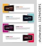 new vector abstract design web... | Shutterstock .eps vector #1129643891