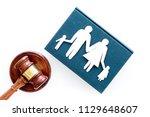 family law  family right... | Shutterstock . vector #1129648607